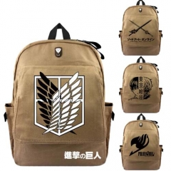 Hot Anime Fairy Tail Fashion Cartoon Cosplay Backpack