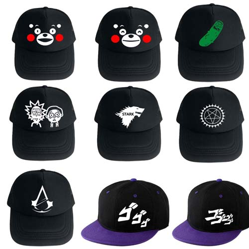 JoJo's Bizarre Adventure Kumamon Baseball Cap For Men Women