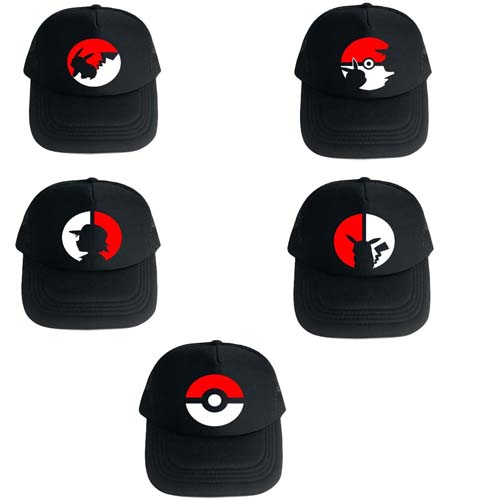 Anime Pokemon Hat Baseball Cap Cool Cosplay Cap For Men Women