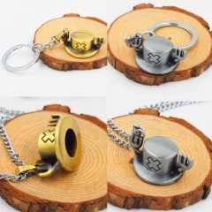 Japanese Anime One Piece Fashion Cosplay Necklace Keychain