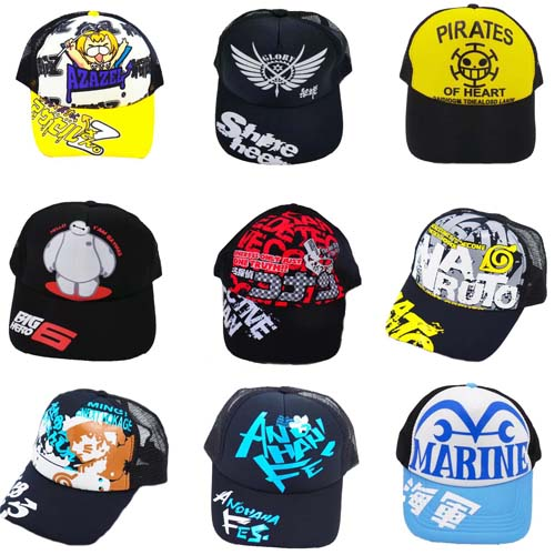 Anime Parasitic One Piece Kuroko No Basket Detective Conan Cosplay Hat