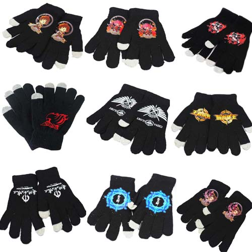 Anime The King's Avatar Overwatch Tokyo Ghoul Cosplay Gloves