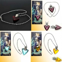 Hot Anime Fate Stay Night Necklace Cosplay Tohsaka Rin