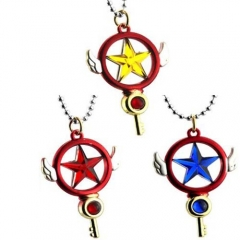 Japanese Anime Card Captor Sakura Necklace Fashion Cosplay Gift