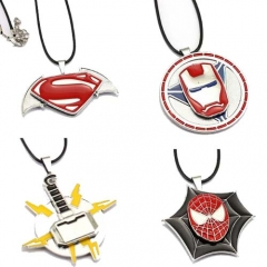 The Avengers Spiderman Pendant Cosplay Necklace Jewelry Accessory