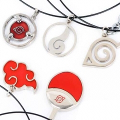 Hot Anime Naruto Akatsuki Cosplay Necklace Jewelry Gifts