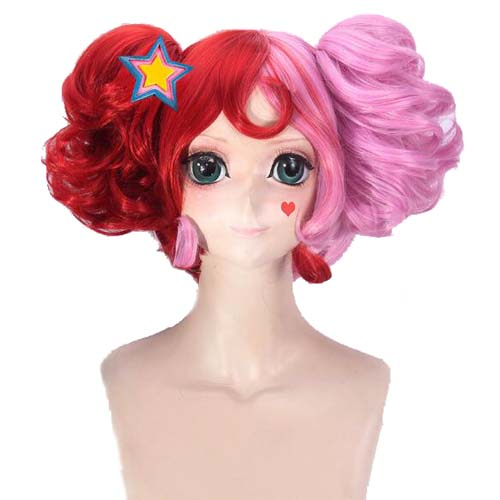 Game Arena Of Valor Cosplay Short Curly Wig Heat Resistant