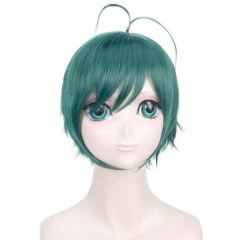 Game Arena Of Valor Cosplay Zhuangzhou Short Green Wig