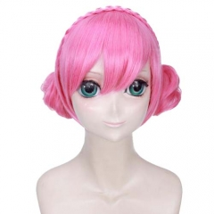 Game Arena Of Valor Cosplay Xiao Qiao Short Pink Wig
