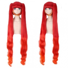 Game Arena Of Valor Cosplay 120CM Long Wavy Red Wig