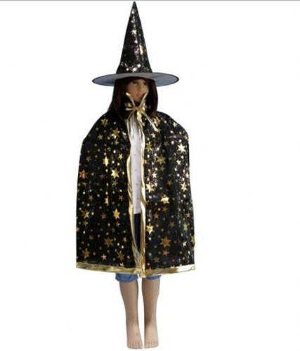 Children's Halloween  Costume Five Stars Cloak Clothes Performance Clothes For Dance Party Costume Ball