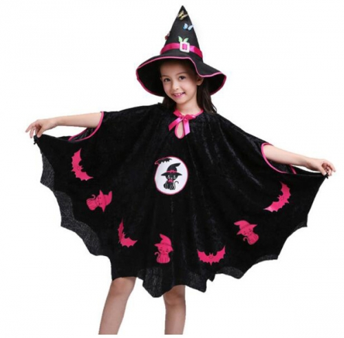 Children's Halloween Costume Bats Dress Witch Spider-Man Performance Clothes For Dance Party Costume Ball