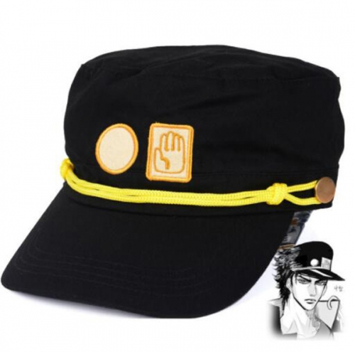 Anime JoJo's Bizarre Adventure Hat Kujo Jotaro,Jotaro Kujo,Kujou Jotarou Cap Sun Hat Cowboy Hat Cartoon Hat Anime Wholesale Flat-top cap