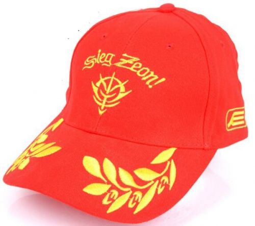 Anime Cosplay Red Hat Sun Cap Wholesale Siea Zeon Letter Cap