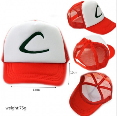 Anime POKEMON Cap Pocket Baseball Cap Wholesale Cap
