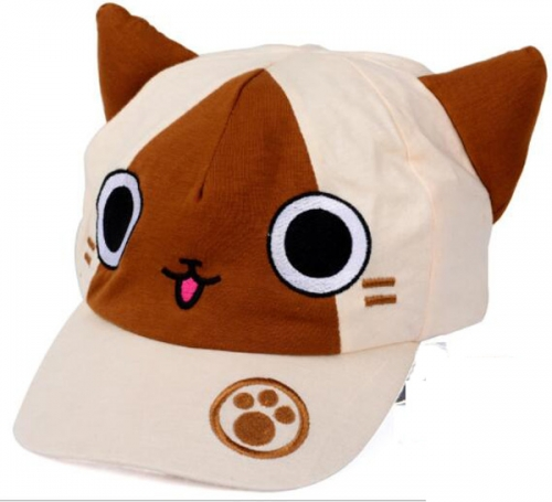 Anime Cat Hat Sun Cap Cat's Ear Cartoon Cap Wholesale