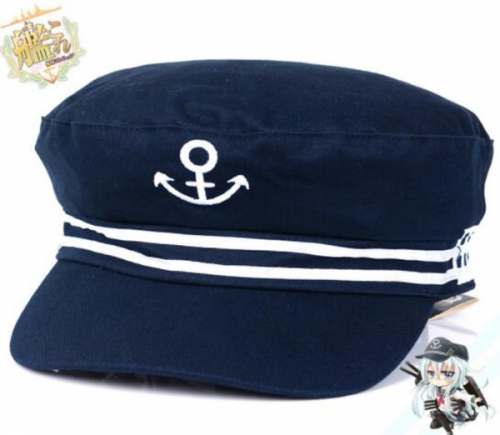 YW Cosplay Good Quality Sailor Hat Anime Sixth Destroyer My Lord Frigate