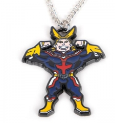 Anime My Hero Academia Necklaces Greendale Alloy Hot Sale Necklace Wholesale Jewelry