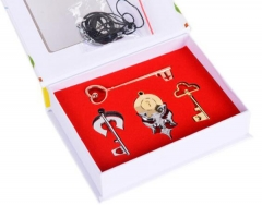 Anime Nisekoi Jewelry Set Cartoon  Necklaces Set Cosplay Wholesale Price Factory Alloy Anime Set