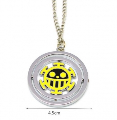 ONE PIECE Necklaces  Jolly Roger Pendant Alloy Silver Necklace Bronze Necklaces