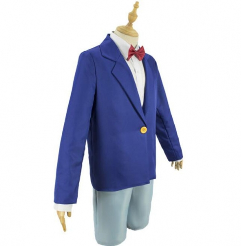 Detective Conan Cosplay Costume Conan Anime Cosplay Costume Suit Including Coat Shirt Pants Tie