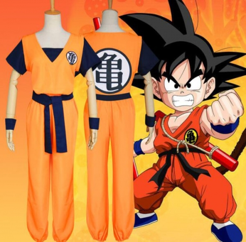 Goku Costume Cosplay Unisex Dragon Ball Z Costume Cloth for Adult Men Women Christmas