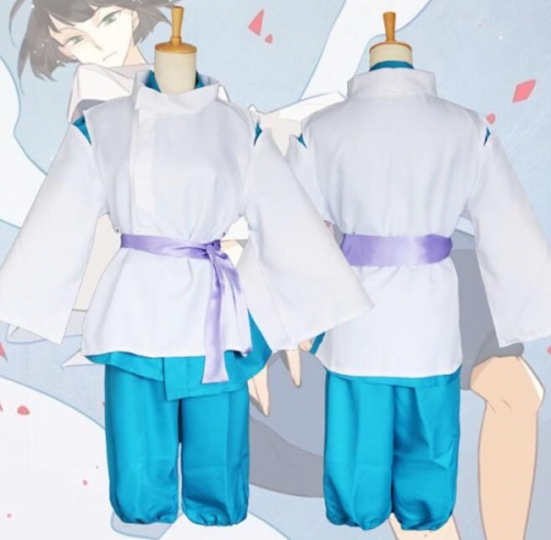 Spirited Away cosplay costume Kimomo kohakugawa Cos Halloween Costume