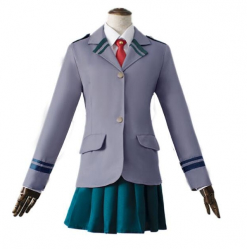 Boku No Hero Academia My Hero Academia Ochaco Uraraka Cosplay Costume Ochako Blazer Suit School Uniform