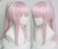 FRANXX Cosplay Wig Pink Ponytail Wig Halloween Cosplay Christmas Gift