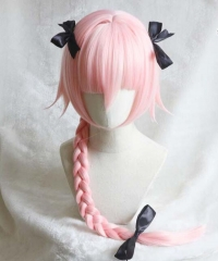 Fate/Grand Order FGO Apocrypha Cosplay Wig Cosplay Costume Hair Anime Pink Ponytail Wig Hair