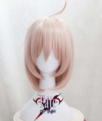 Fate/Grand Order FGO Apocrypha Cosplay Wig Cosplay Costume Hair Anime Pink Wig Hair