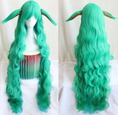 Women League Of Legends LOL Character Long Straight Hair Cosplay Shawl Hair Wig