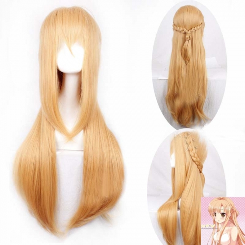 Anime Sword Art Online Asuna Cosplay Wig For Halloween