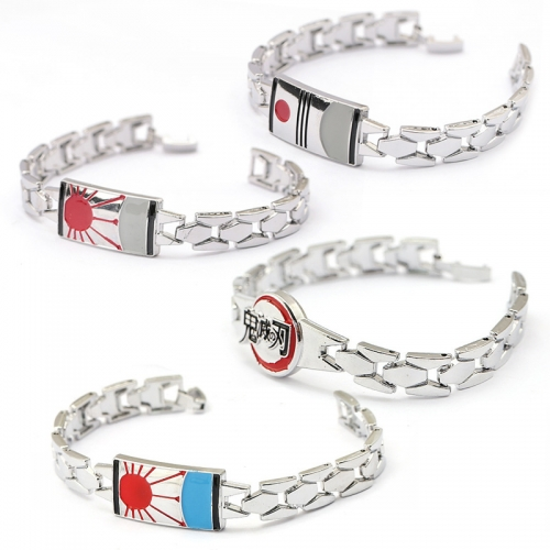 Demon Slayer Kamado Tanjirou Kamado Nezuko Kimetsu no Yaiba Bracelet  for Teens Women Mans