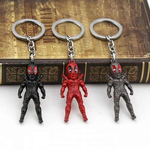 Avengers Keychain Key Ring Anime Accessories For Unisex Student