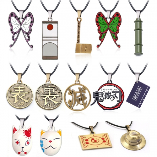 Demon Slayer Kamado Tanjirou Kamado Nezuko Kimetsu no Yaiba Necklace