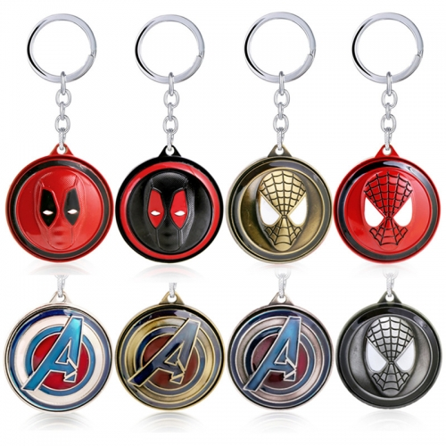 Avengers Necklace Hero Man Pendant Charm Necklace Anime Accessories