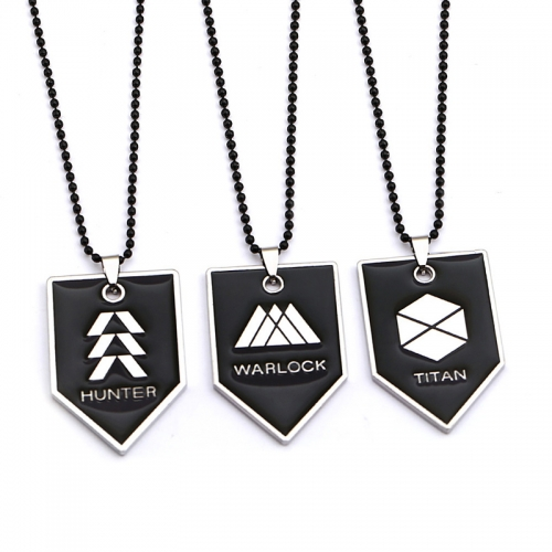Anime Metal Charm Necklace Pendant Alloy Charm Necklace